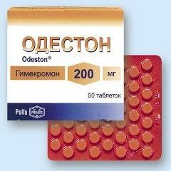 Препарат Одестон в таблетках