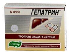 Гепатрин – препарат, снижающий интоксикацию печени