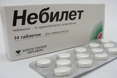 Таблетки Небилет